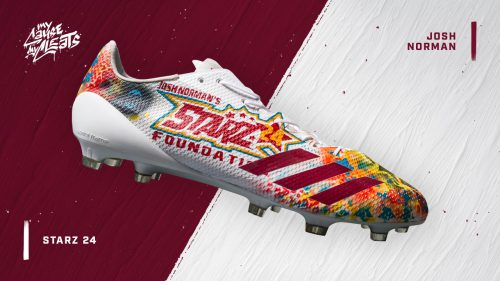 My cause my cleats: custom Starz24 Foundation Cleats